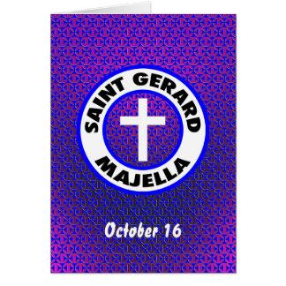 Cartão Santo Gerard Majella