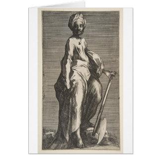 Cartão Santo Jude (ou santo Matthias)