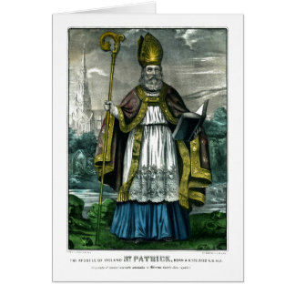 Cartão Santo Patrick