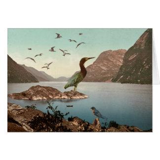 Cartão Santuário de pássaro
