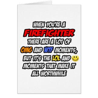 Cartão Sapador-bombeiro. OMG WTF LOL