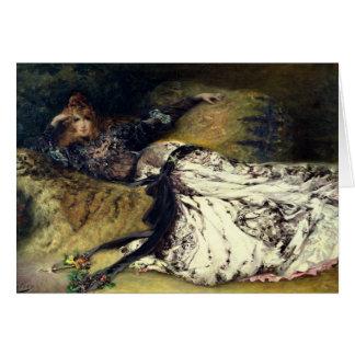 Cartão Sarah Bernhardt 1871
