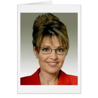 Cartão Sarah Palin