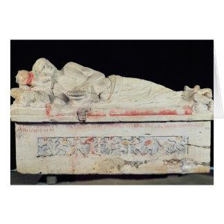 Cartão Sarcófago, Etruscan