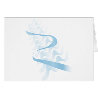 Cartão Satin. abstrato