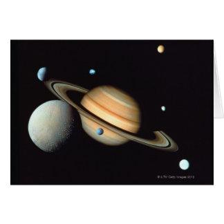 Cartão Saturn e satélites