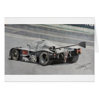 Cartão Sauber 1988 C9 Mercedes