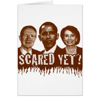 Cartão Scared ainda?