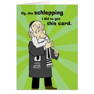 Cartão Schlepping