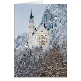Cartão Schloss Neuschwanstein