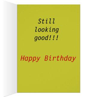 Cartão Schnauzer Bday feliz