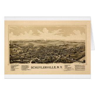 Cartão schuylerville1889