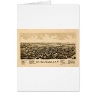 Cartão Schuylerville 1889