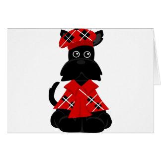 Cartão Scottie de PeticularFashions.com