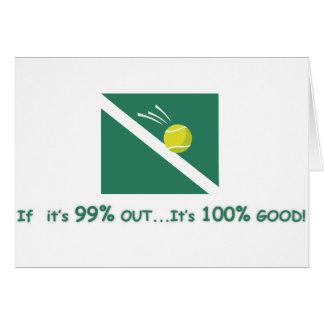 Cartão Se é 99% para fora é 100% bom