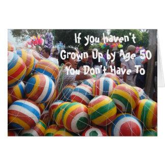 Cartão Se você não cresceu acima por 50, você não faz tem
