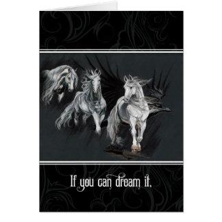 Cartão Se você pode o sonhar, você pode fazê-lo