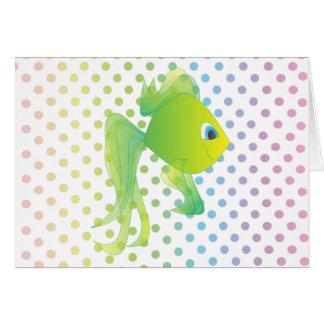Cartão Sean os peixes
