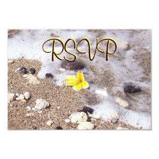 Cartão Seashells do cerco da resposta do convidado de