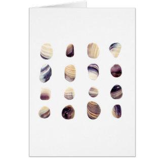 Cartão Seashells resistidos