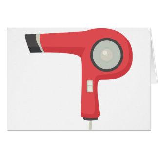 Cartão Secador de cabelo