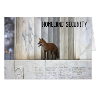 Cartão Segurança interna