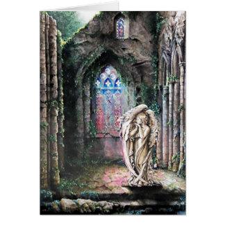 """Cartão """"Seja ainda e saiba, 46:10 dos salmos """""""