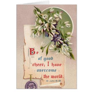 Cartão Seja do bom elogio