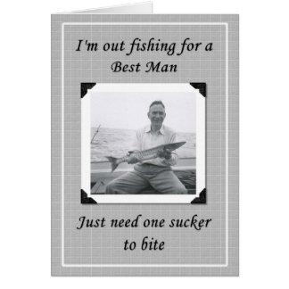 Cartão Seja meu melhor homem?