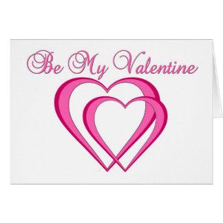 Cartão Seja meus namorados