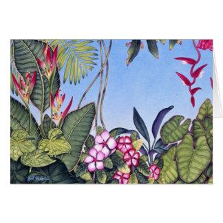 Cartão Selva botânica