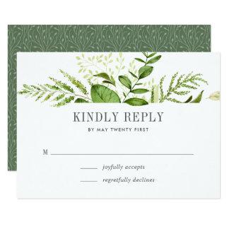 Cartão selvagem do prado RSVP Convite 8.89 X 12.7cm