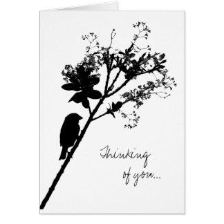 Cartão Sem Vous - pensando de você