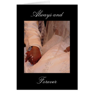 Cartão Sempre e para sempre