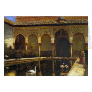 Cartão Senhor Semana Um Corte de Edwin no Alhambra