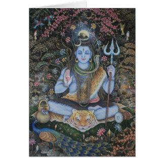 Cartão Senhor Shiva