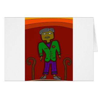 Cartão Senhor Sophisticate