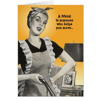 Cartão Senhora definida BFF Amizade Segredo do humor LOL