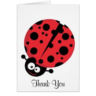 Cartão Senhora Desinsetar Agradecimento Você Nota