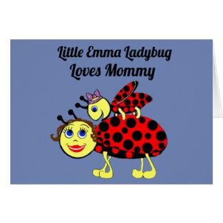 Cartão Senhora Desinsetar de Emma
