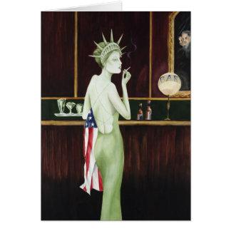 Cartão Senhora Liberdade