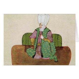 Cartão Senhora sultão 1971 Suleyman mim