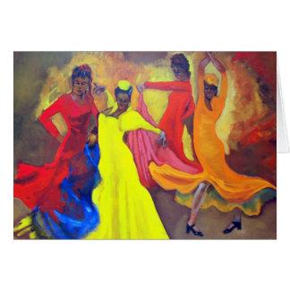 Cartão Senhoras de Sevilha