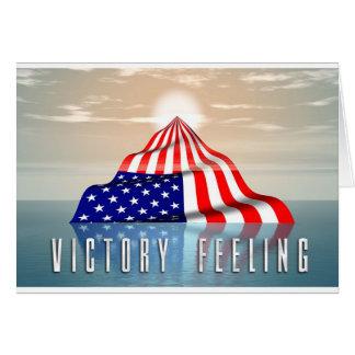 Cartão Sentimento da vitória