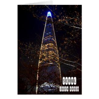 Cartão Seoul, Coreia do Sul