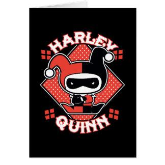 Cartão Separações de Chibi Harley Quinn