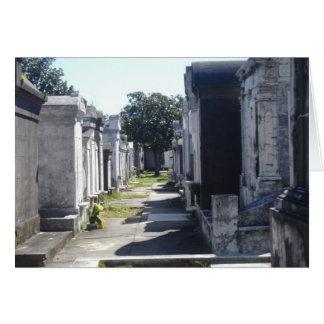Cartão Sepulturas de Nova Orleães