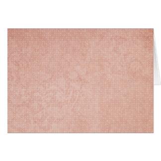 Cartão Sequóia vermelha clara rústica