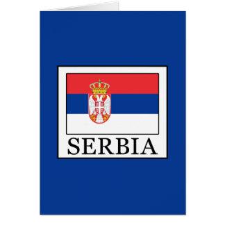 Cartão Serbia
