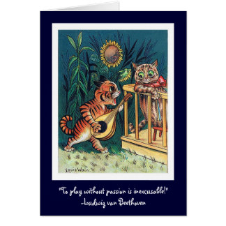 Cartão Serenade do dia dos namorados
